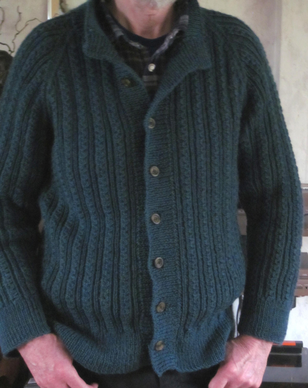herresweater med snoninger