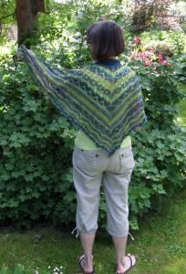 strikket i lace garn
